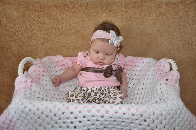 Hayle's 3 month photos