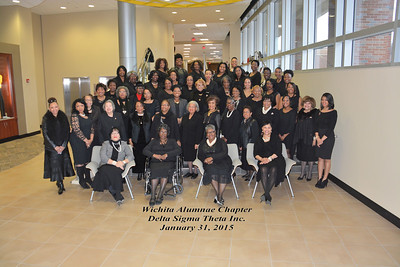 102 Founders Day -Delta Sigma Theta Sorority, Inc.  Jan 31, 2015