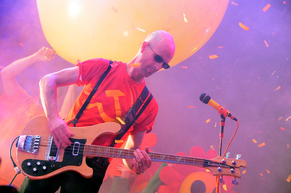 Michael Ivins, The Flaming Lips, New Years Freakout 2011.