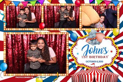 John's 1st Birthday - 10-06-2019