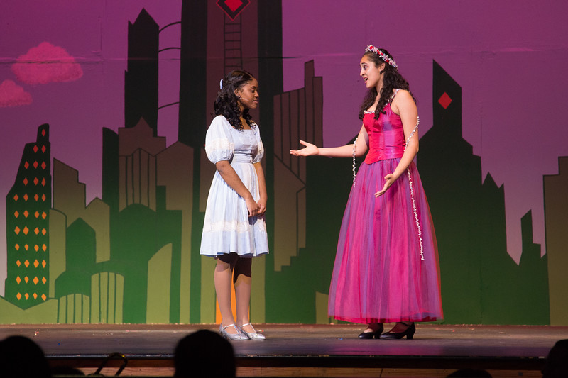 """""""A Rested Body is a Rested Mind"""" -- """"The Wiz"""", Montgomery Blair High School spring musical, March 26, 2017"""""""