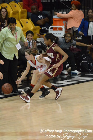 03-15-2014 Southern HS vs New Town HS, Girls Varsity Basketball 1A State Finals, Photos by Jeffrey Vogt Photography