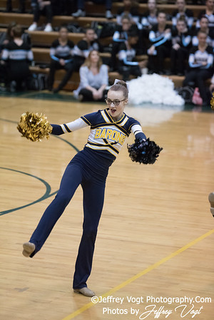 12-16-2017 Bethesda Chevy Chase HS Poms at Seneca Valley HS Poms Exhibition, Photos by Jeffrey Vogt Photography