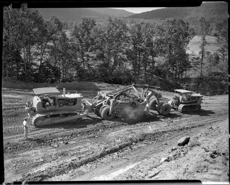 Ft. Smith Evans Job Cat D9 Tractor 7/8/1955