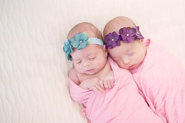 Bruehl twins! Feb 2015