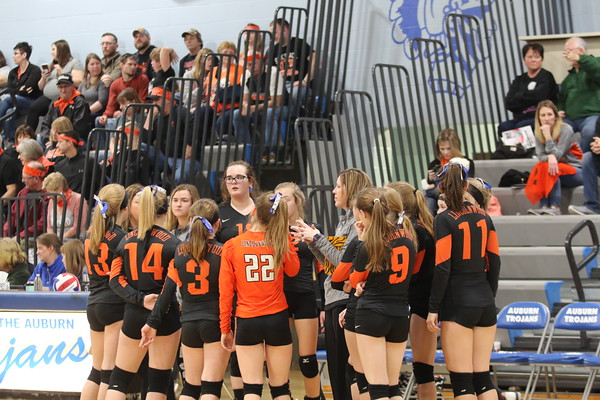 March 15, 2019 - Lincolnwood Volleyball at IESA State