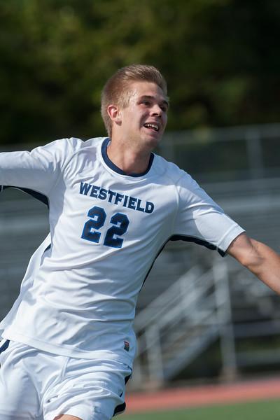 Westfield State University Men's soccer vs Framingham State at Alumni Field.