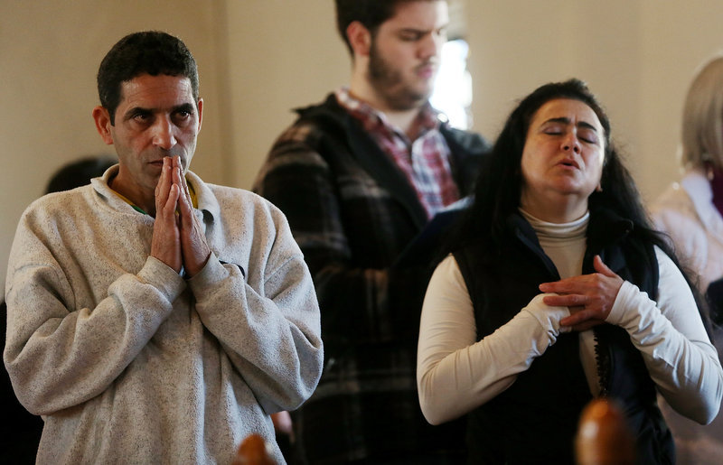 . People worship at a prayer service to reflect on the violence at Sandy Hook Elementary School at a church on December 15, 2012 in Newtown, Connecticut. Twenty six people were shot dead, including twenty children, after a gunman identified as Adam Lanza opened fire in the school. Lanza also reportedly had committed suicide at the scene. A 28th person, believed to be Nancy Lanza was found dead in a house in town, was also believed to have been shot by Adam Lanza.  (Photo by Mario Tama/Getty Images)