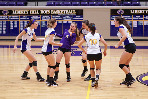 2015-10-20 - Lady Panther Volleyball vs Salado