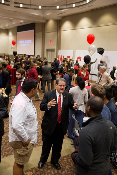 Description: Capital Campaign Campus KickoffDate of Photo: 11/10/2016Credit: Andrew Davis Tucker, University of GeorgiaPhotographic Services File: 34401-043The University of Georgia owns the rights to this image or has permission to redistribute this image. Permission to use this image is granted for internal UGA publications and promotions and for a one-time use for news purposes. Separate permission and payment of a fee is required to use any image for any other purpose, including but not limited to, commercial, advertising or illustrative purposes. Unauthorized use of any of these copyrighted photographs is unlawful and may subject the user to civil and criminal penalties. Possession of this image signifies agreement to all the terms described above.