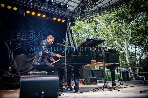 Jon Batiste And Stay Human @ Summerstage (Mon / 8/14)