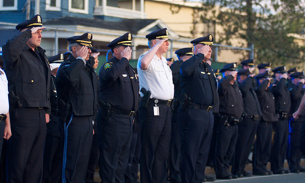 Vigil for Officer Sean Collier