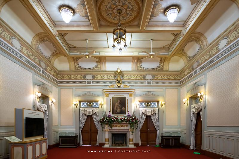 Phiman Chakri Throne Hall (Interior)