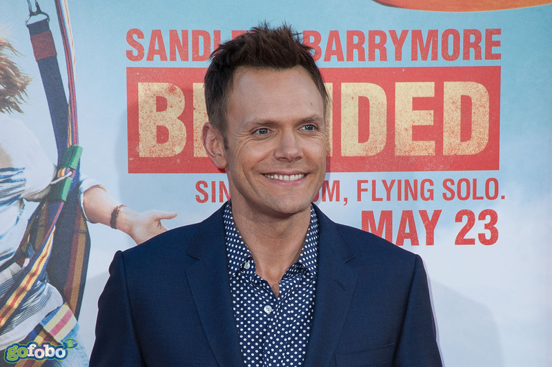 HOLLYWOOD, CA - MAY 21: Actor Joel McHale arrives at the Los Angeles premiere of 'Blended' at TCL Chinese Theatre on Wednesday May 21, 2014 in Hollywood, California. (Photo by Tom Sorensen/Moovieboy Pictures)