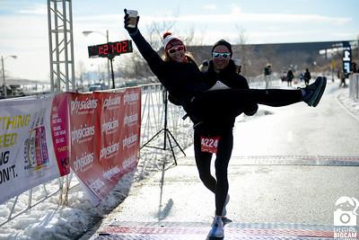 F3 Lake Half Marathon Finish Line