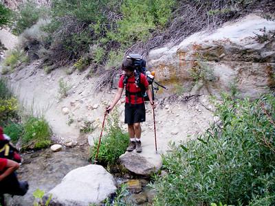 8/14/2010 - Mt. Whitney Hike Day 1: Shepherd Pass Trailhead