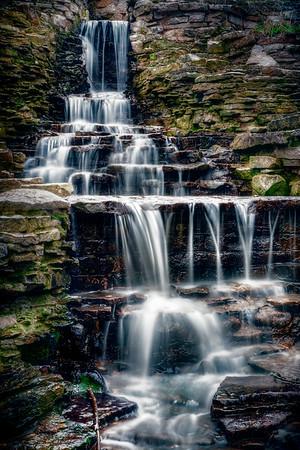 Lake Park Waterfall - $5