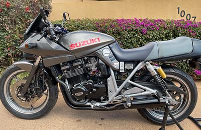 Suzuki Katana 400 (QSA) on IMA
