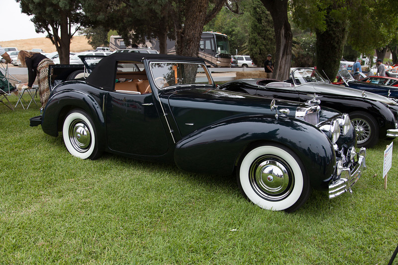 Tom Leonard's 1947 Triumph 1800 Roadster.