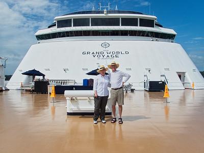 World Cruise on Amsterdam