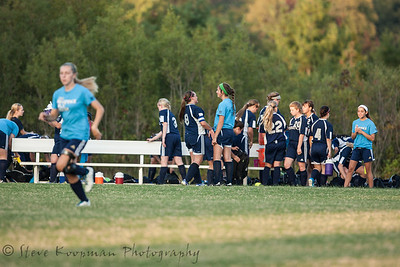 2013 PHS Girls Soccer vs New Albany