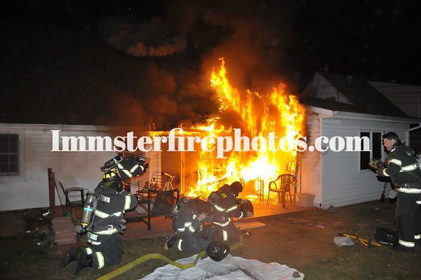 LEVITTOWN PRENTICE RD HOUSE FIRE 2-24-12