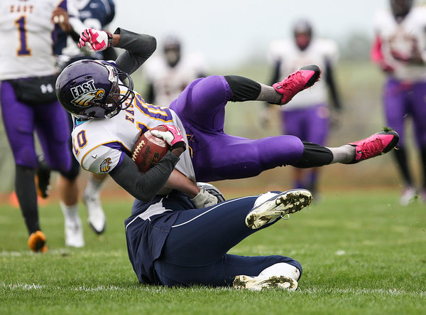 Pittsford Panthers v. East Orientals (Sectionals) 10-26-13