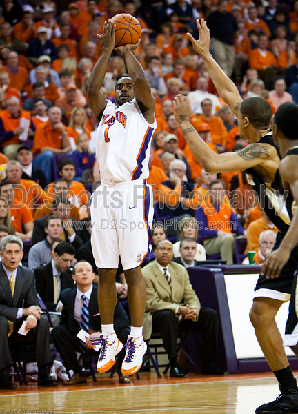 Clemson vs Wake Forest, ACC Basketball 1/17/2009