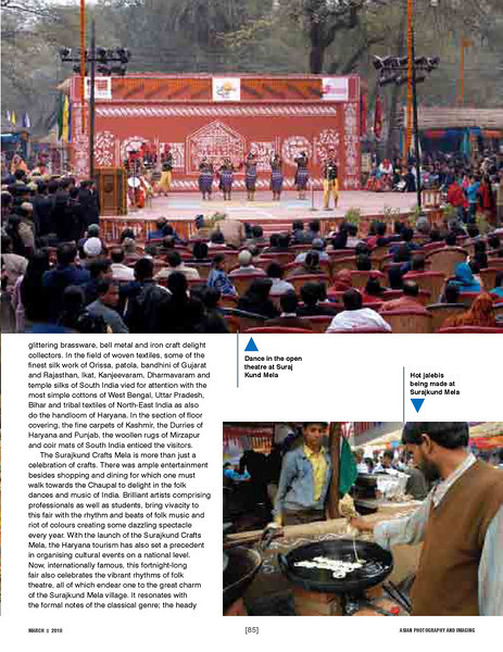 """Asian Photography  http://www.asianphotographyindia.com/ March 2010 Issue - Travel Feature Article - """"Surajkund Mela"""" article by Arundhathi and pictures by Suchit Nanda.  Asian Photography is India's premier and oldest photography magazine.  You can read the full article with full size images at: http://suchit.net/photo/surajkund_2010/"""