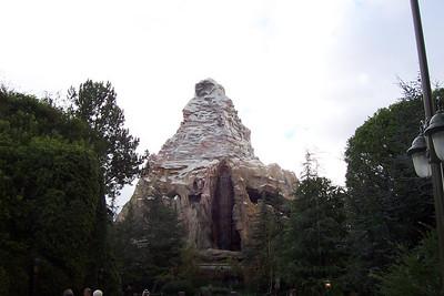 Disneyland Matterhorn 'n' Bobsleds