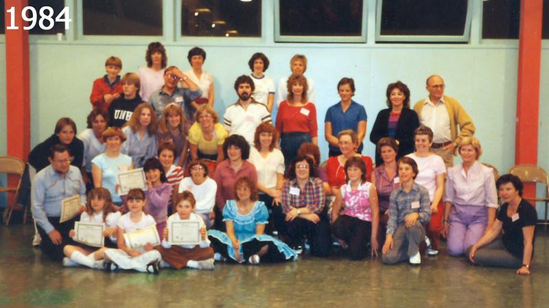 Graduating Beginners 1984