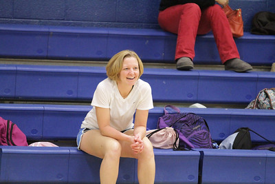 Faculty vs Girls Volleyball