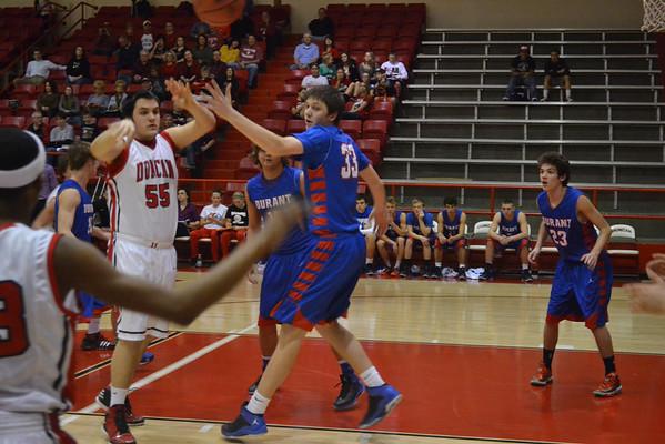 Duncan boys hoops vs Durant