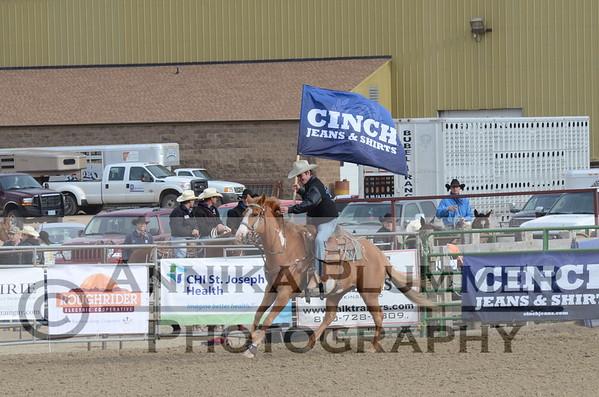 2015 DSU Rodeo - Sat Short Go - Grand Entry