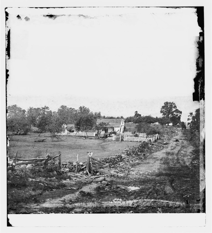 . Gettysburg, Pa. Headquarters of Gen. George G. Meade on Cemetery Ridge  - Library of Congress Prints and Photographs Division Washington, D.C.