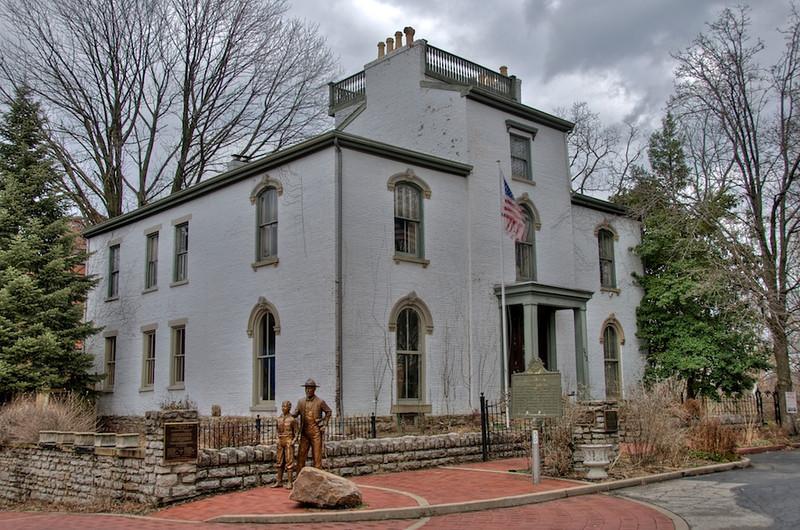 Daniel Carter Beard House - 322 E. 3rd St. - built ~ 1821