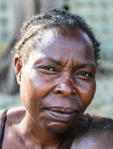 Woman at Maputo - Mozambique