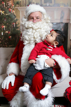 Santa at GrubbCo, December 2019