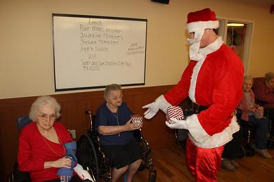 Socks For Seniors, Hometown Nursing and Rehabilitation Center, Hometown (12-20-2013)