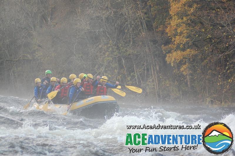 Tay Rafting Saturday 9th November PM