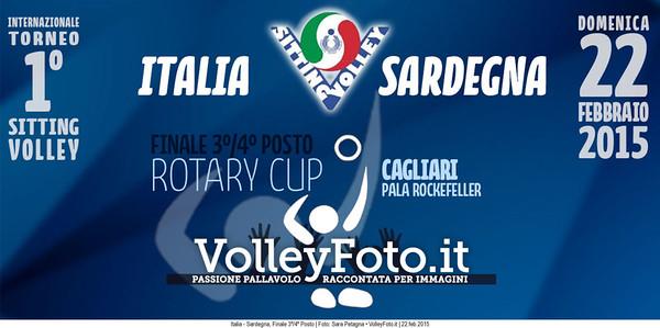 ITALIA-SARDEGNA Torneo Int.le Sitting Volley CAGLIARI