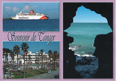 Tanger - Tangier With Ships