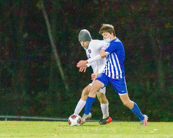 2020-10-30 Hillsdale Academy Varsity Soccer - Regionals vs. Lenawee Christian