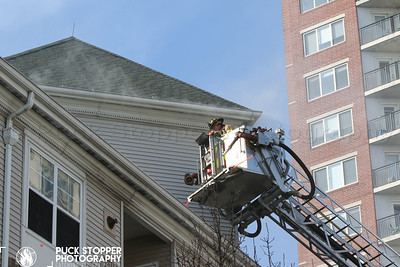 3 Alarm Apartment Building Fire - 180 Broad St, Stamford, CT - 3/2/20