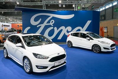 Ford bei der Vienna Autoshow 2017