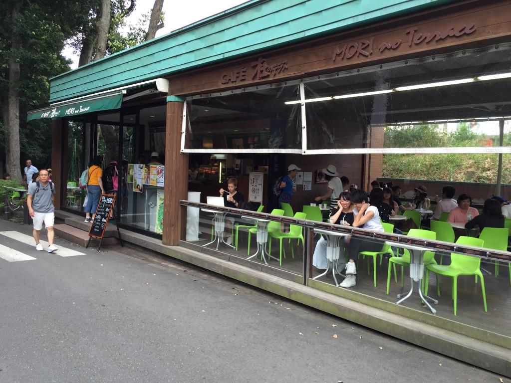 Mori no Terrace cafe