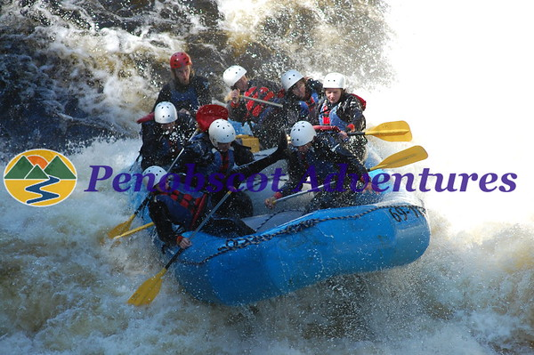 Penobscot River Rafting Photos 2017