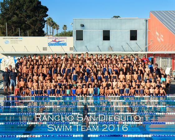 RSD Swim Team 2016