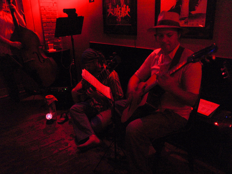 The Oneironauts Indo-Gypsy Jazz @ Yuki Izakaya