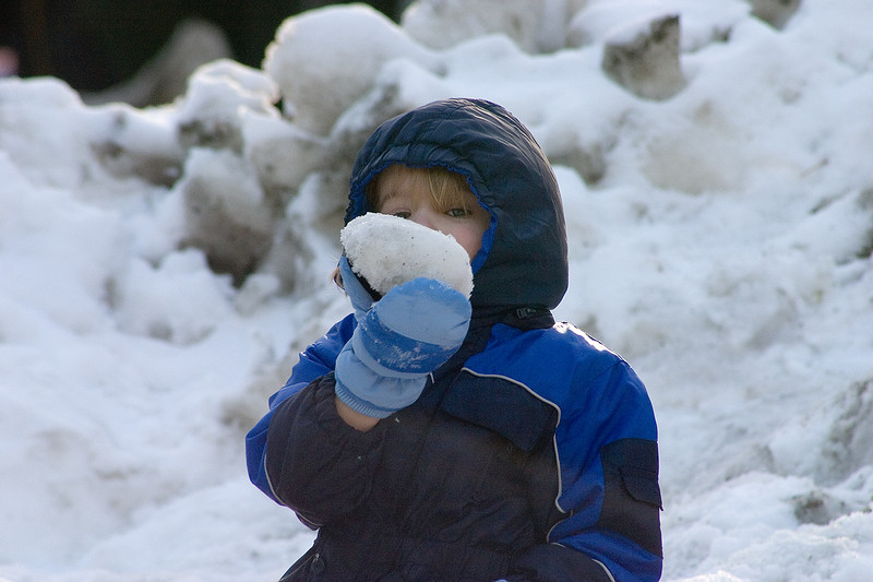 Kids In Yosemite